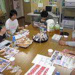 筑後支部と大川三潴支部の青年部員が仲間増やしに奮闘!