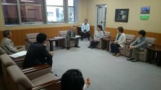 大牟田市議会議長へ要請
