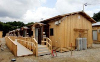 仮設木造住宅建設