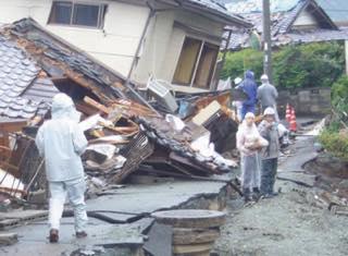 熊本大震災発生 5月より支援ボランティア取り組み開始<br /> (福建労より累計145人が参加)